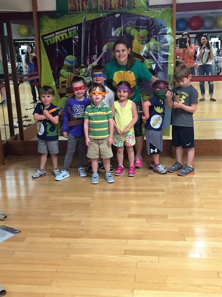 Murphy's Mutant Ninja Turtle Birthday!